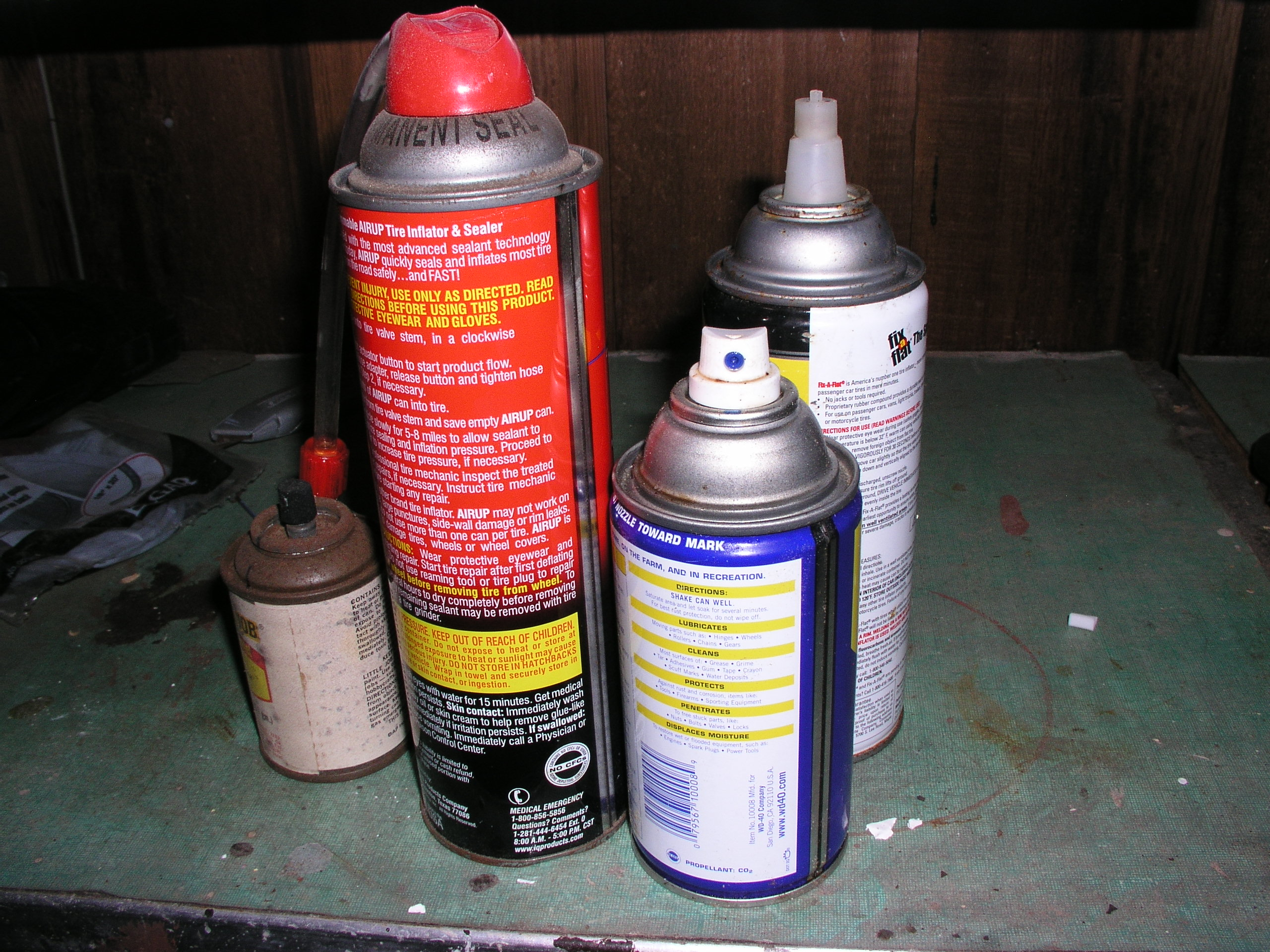 Disposing Of Spray Paint Aeresol Cans In